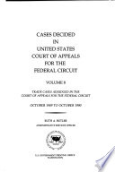 Cases Decided in United States Court of Appeals for the Federal Circuit