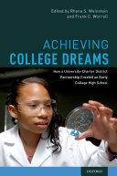 Achieving College Dreams Pdf/ePub eBook