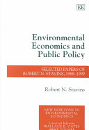 Environmental Economics and Public Policy Book