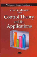 Control Theory and Its Applications Book