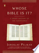 Whose Bible Is It  Book PDF