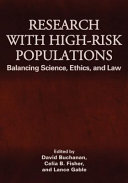 Research with High risk Populations