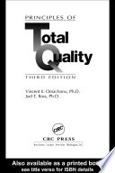 Principles of Total Quality Book
