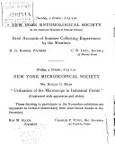 Bulletin of the New York Academy of Sciences and Affiliated Societies