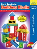 Cross Curricular Building Blocks   Grades PreK K Book PDF