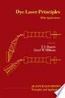 Dye Laser Principles Book
