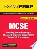 MCSE 70 293 Exam Prep