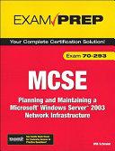MCSE 70-293 Exam Prep