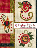 Ruby Red Dots: Fanciful Circle Inspired Designs