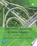 Differential Equations and Linear Algebra, Global Edition