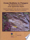 From Rodinia to Pangea  : The Lithotectonic Record of the Appalachian Region