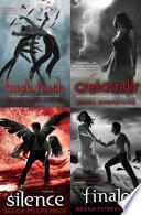 """The Complete Hush, Hush Saga: includes Hush, Hush; Crescendo; Silence and Finale"" by Becca Fitzpatrick"