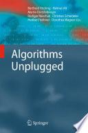Algorithms Unplugged