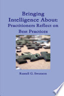 Bringing Intelligence About: Practitioners Reflect on Best Practices