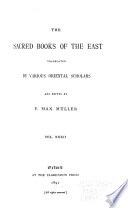 The Sacred Books Of The East Vedic Hymns Pt 1 Book PDF