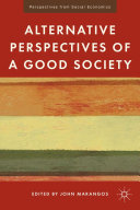 Pdf Alternative Perspectives of a Good Society Telecharger