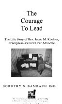 The Courage to Lead Book PDF