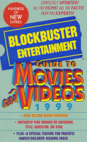 The Blockbuster Entertainment Guide to Movies and Videos Book