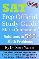SAT Prep Official Study Guide Math Companion