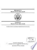 President S Historic Preservation Awards Book PDF