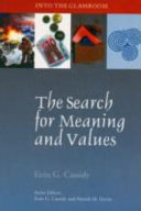 The Search for Meaning and Values Book