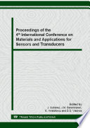 Proceedings Of The 4th International Conference On Materials And Applications For Sensors And Transducers