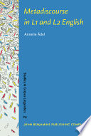 Metadiscourse in L1 and L2 English