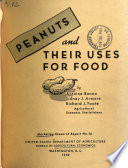 Peanuts and Their Uses for Food