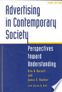 Advertising In Contemporary Society Book