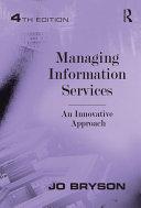 Managing Information Services Pdf/ePub eBook