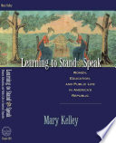 Learning to Stand & Speak