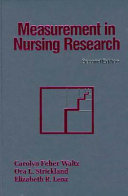Measurement in Nursing Research