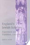 England S Jewish Solution