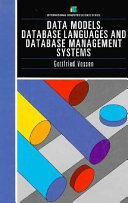 Data Models, Database Languages and Database Management Systems