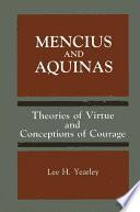 Mencius and Aquinas