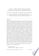 A Survey on Deep Transfer Learning and Edge Computing for Mitigating the COVID-19 Pandemic