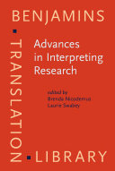 Advances in Interpreting Research