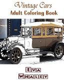 Vintage Cars Adult Coloring Book
