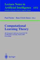 Computational Learning Theory