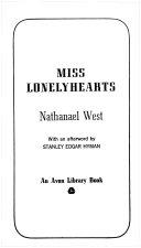 Miss Lonelyhearts [Pdf/ePub] eBook