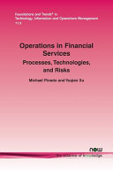 Operations in Financial Services