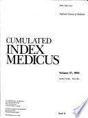 Cumulated Index Medicus Book