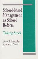 School-based management as school reform