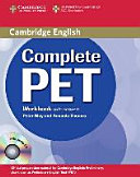 Complete PET  Workbook with Anwers and Audio CD