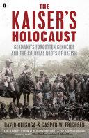 The Kaiser s Holocaust