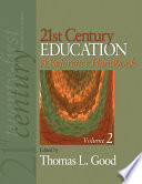 21st Century Education A Reference Handbook