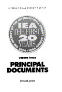 IEA, the First 20 Years: Principal documents