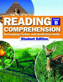 Reading Comprehension Student Book Level B
