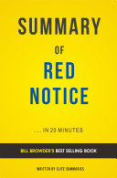 Red Notice: by Bill Browder   Summary and Analysis