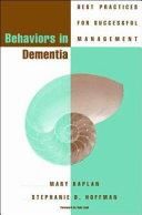 Behaviors in Dementia